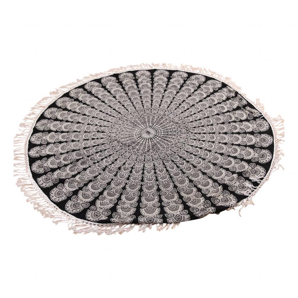 Myroundie Myroundie - roundie - rond strandlaken - 100% katoen – 5