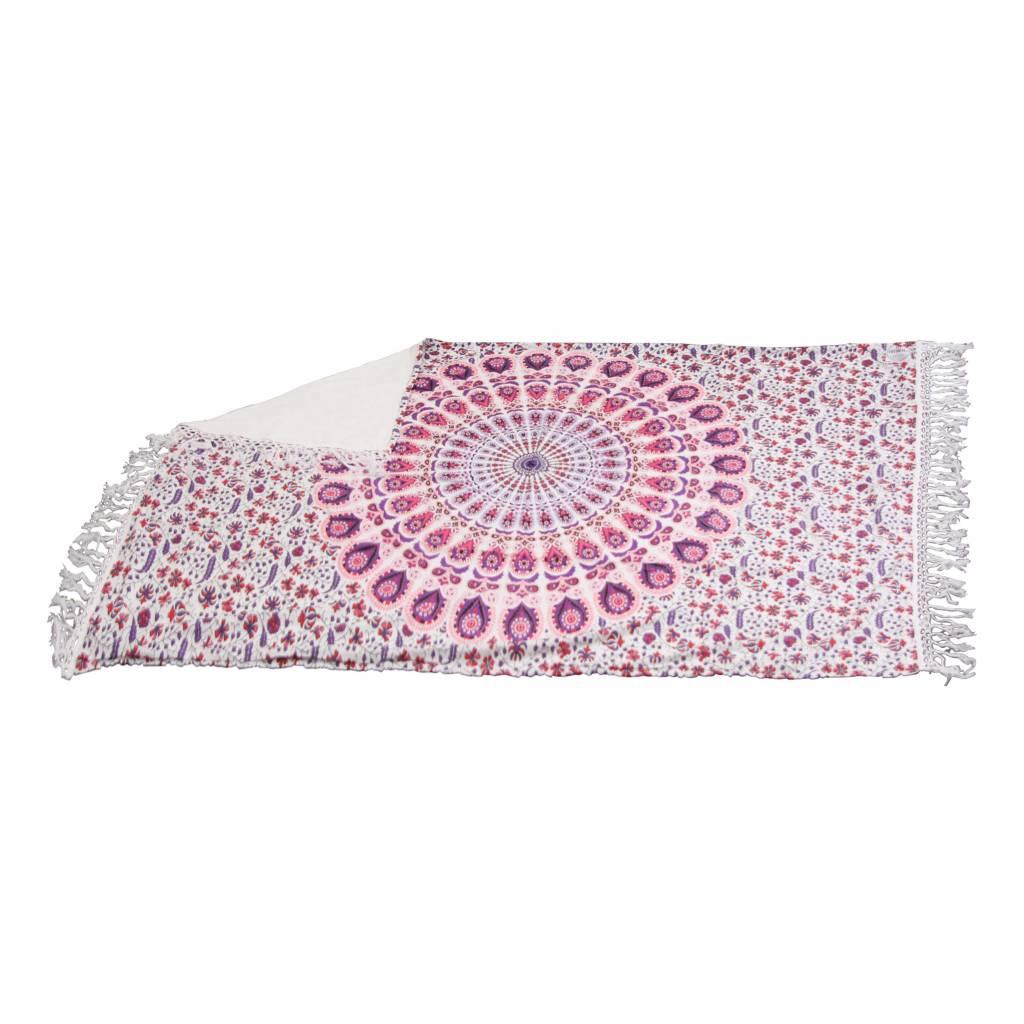 Myroundie Myroundie – roundie – badstof strandlaken XL  – 100% katoen – 140x220 cm – 780