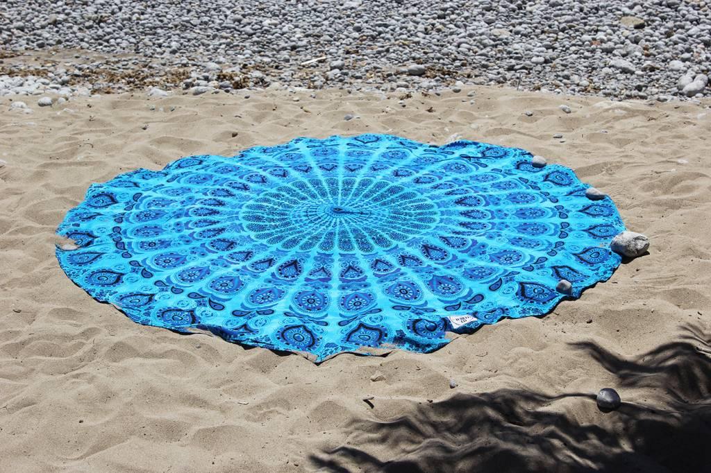 Myroundie Myroundie – roundie – rond strandlaken – 100% katoen – 409