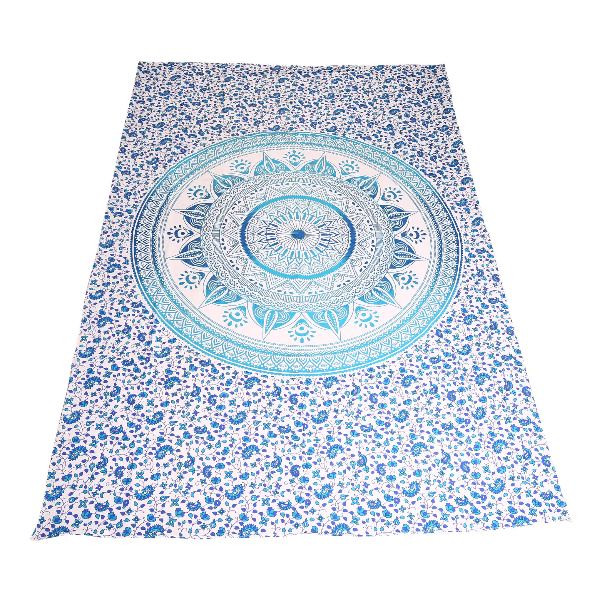 Myroundie Myroundie – roundie  - rechthoekig strandlaken – strandkleed - yoga kleed - picknickkleed - speelkleed - muurkleed - 100% katoen  - 140 x 210 cm - 803