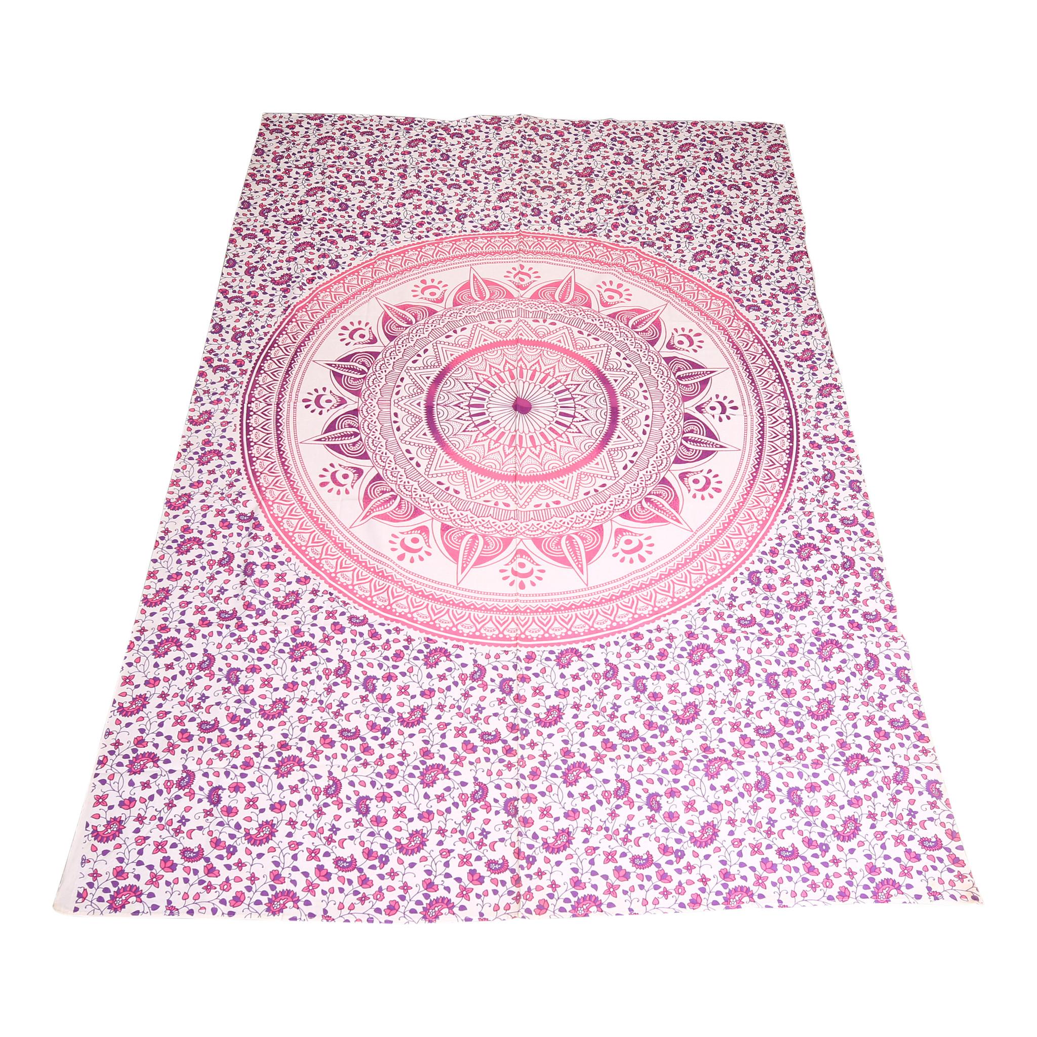 Myroundie Myroundie – roundie  - rechthoekig strandlaken – strandkleed - yoga kleed - picknickkleed - speelkleed - muurkleed - 100% katoen  - 140 x 210 cm - 804