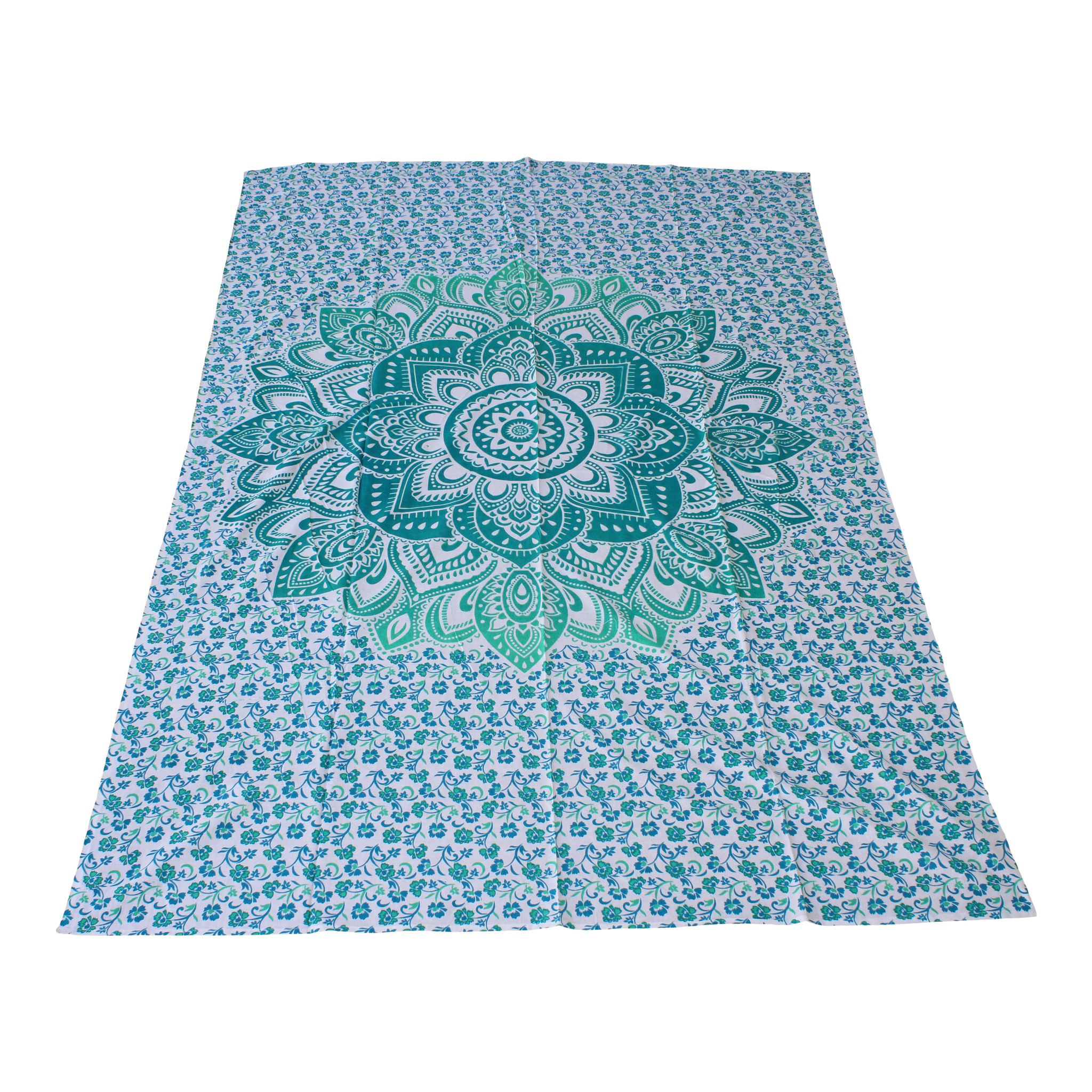 Myroundie Myroundie – roundie  - rechthoekig strandlaken – strandkleed - yoga kleed - picknickkleed - speelkleed - muurkleed - 100% katoen  - 140 x 210 cm - 826