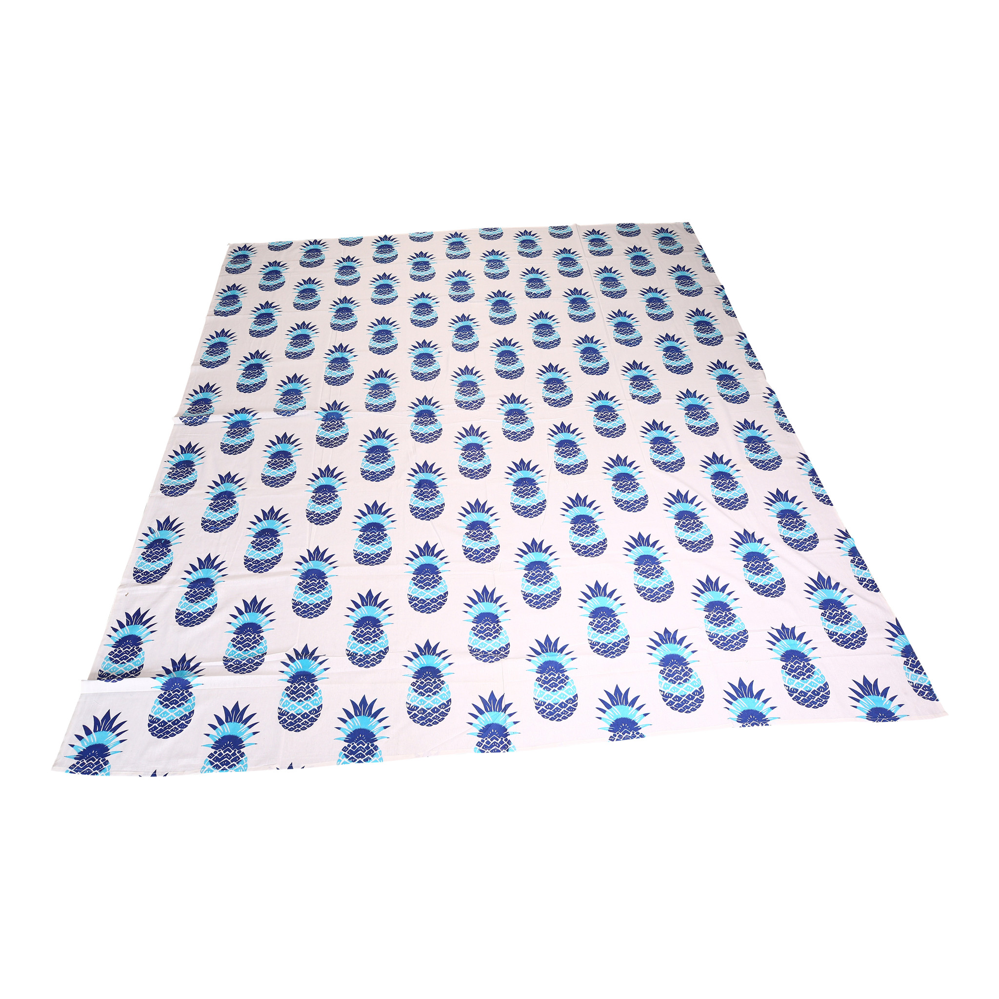 Myroundie Myroundie - roundie - vierkant strandlaken XL – yoga kleed- speelkleed - picknickkleed -100% katoen – Q34