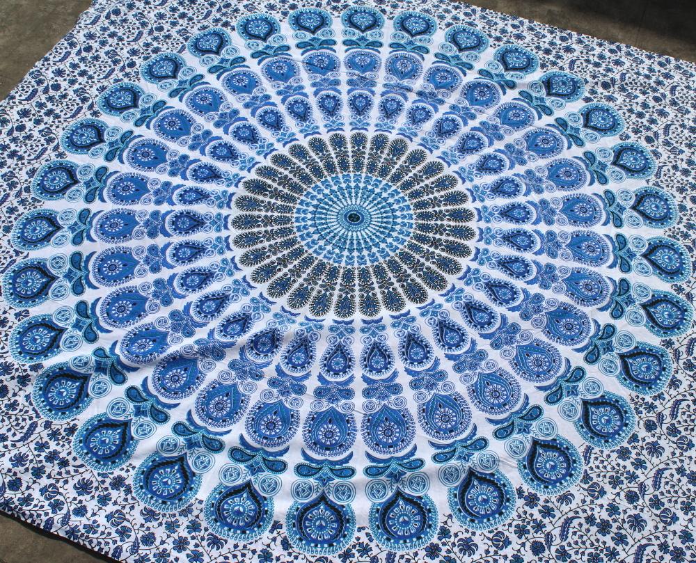 Myroundie Myroundie - roundie - vierkant strandlaken XL – yoga kleed- speelkleed - picknickkleed -100% katoen – Q8