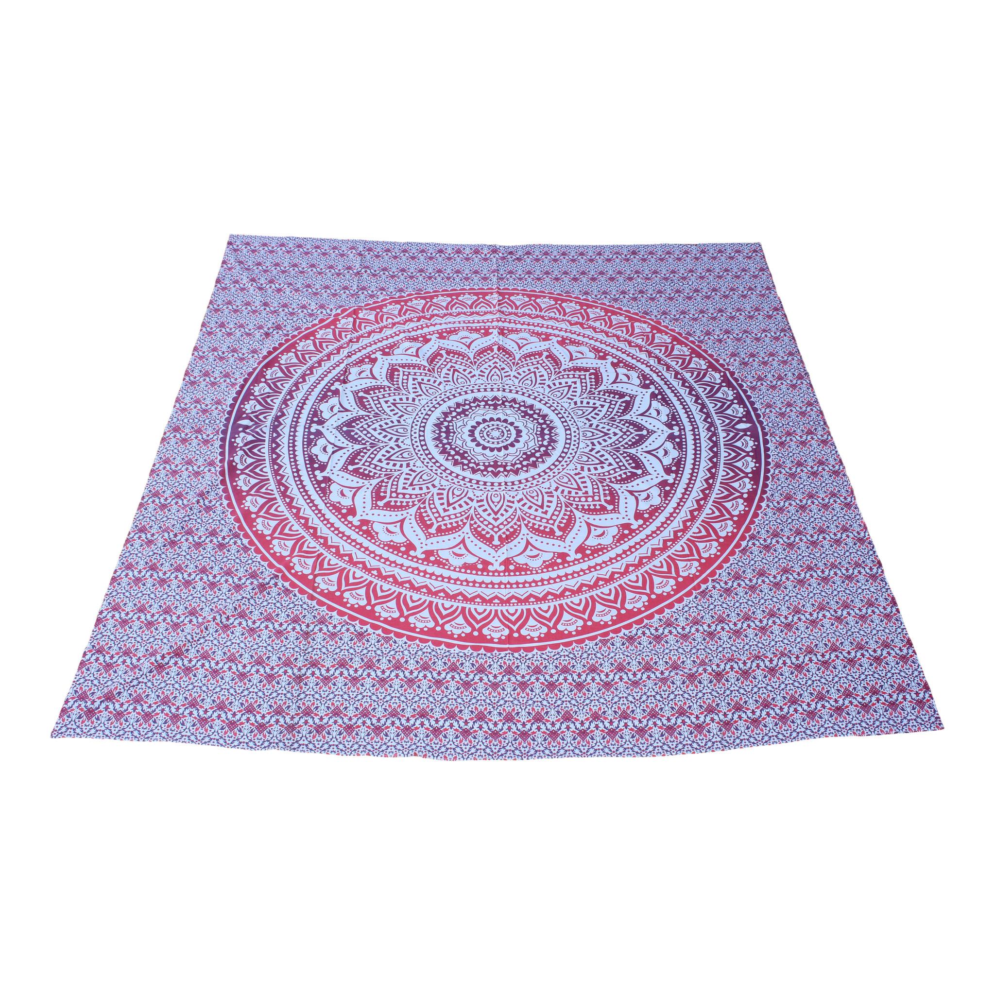 Myroundie Myroundie - roundie - vierkant strandlaken XL – yoga kleed- speelkleed - picknickkleed -100% katoen – Q51