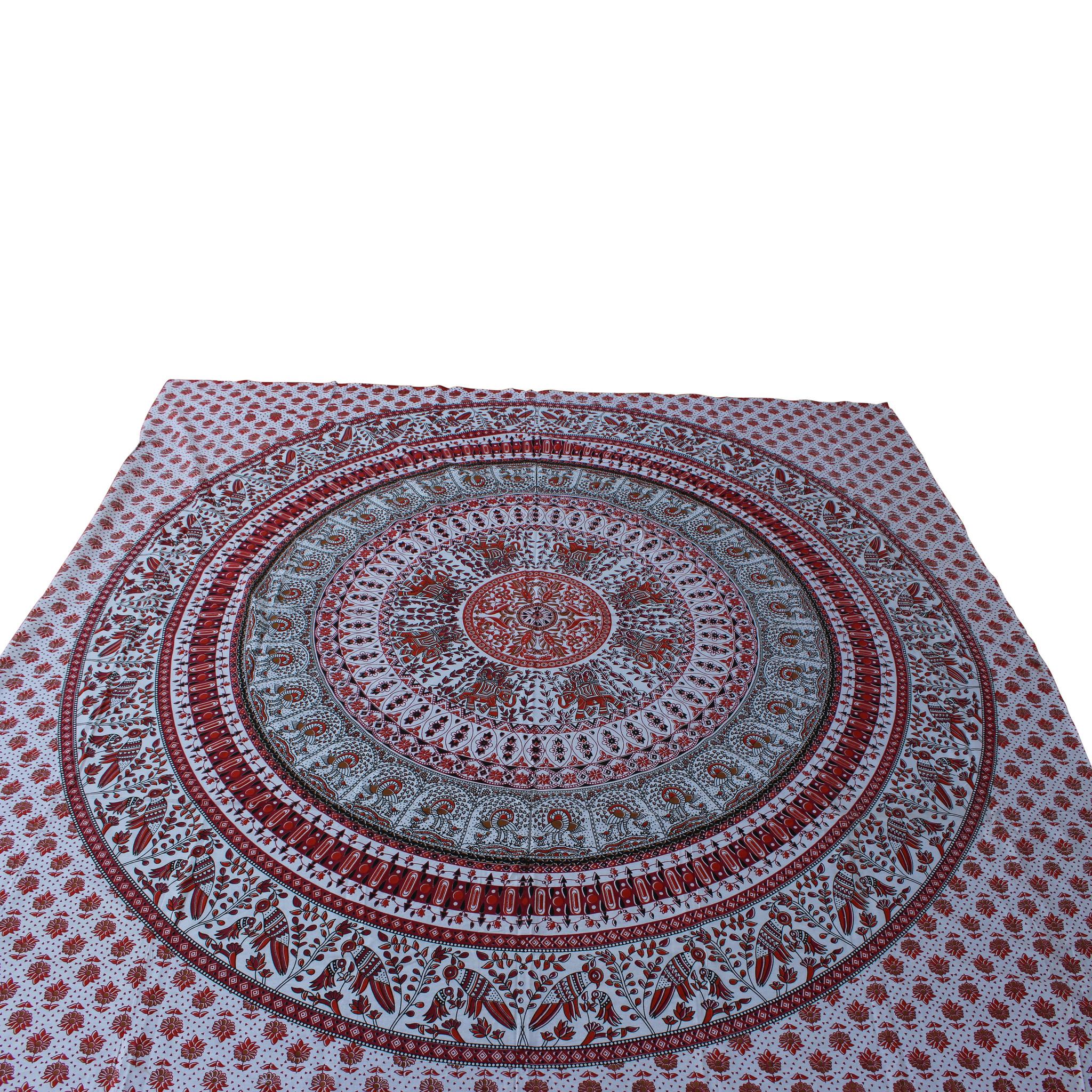 Myroundie Myroundie - roundie - vierkant strandlaken XL – yoga kleed- speelkleed - picknickkleed -100% katoen – Q2