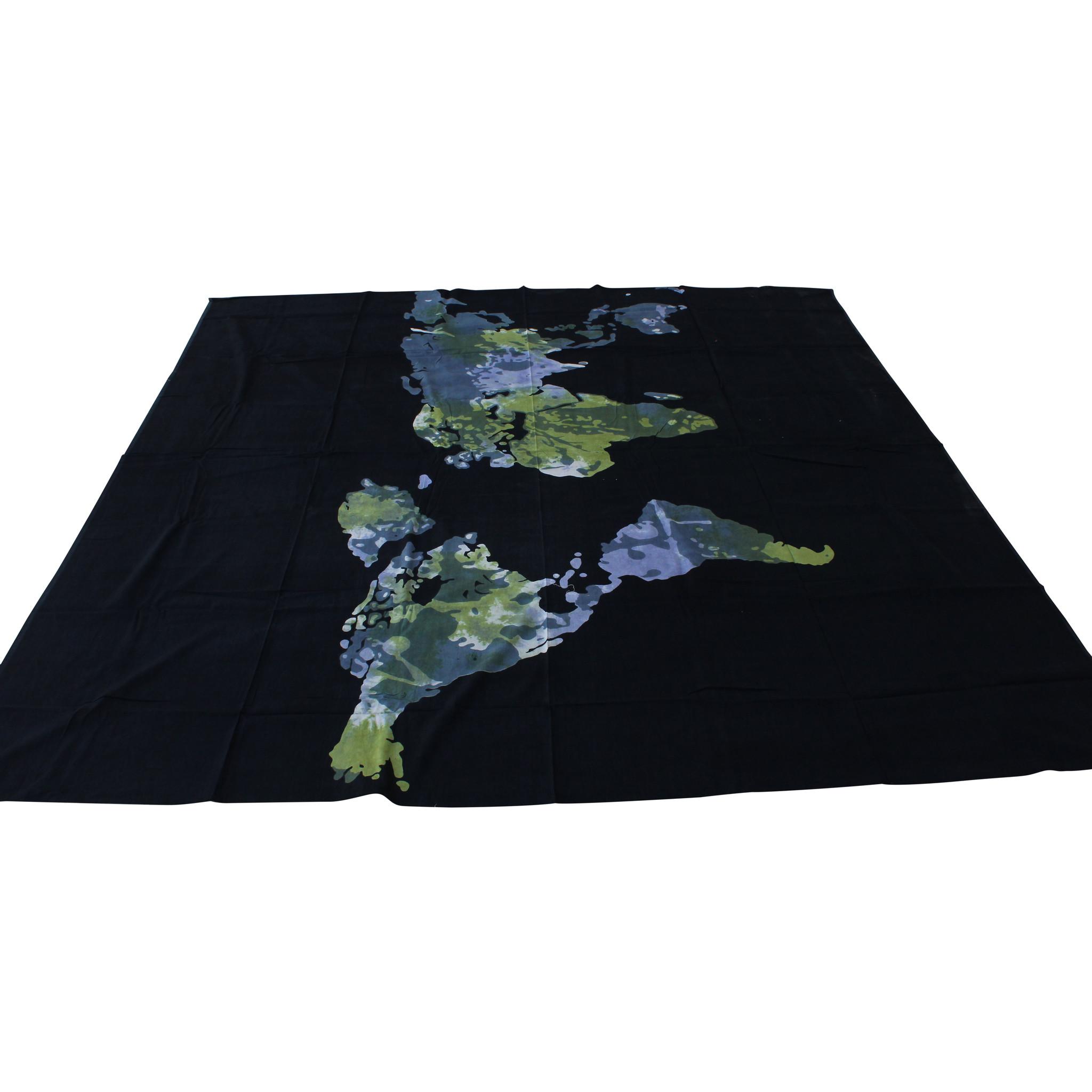 Myroundie Myroundie - roundie - vierkant strandlaken XL – yoga kleed- speelkleed - picknickkleed -100% katoen – Q59