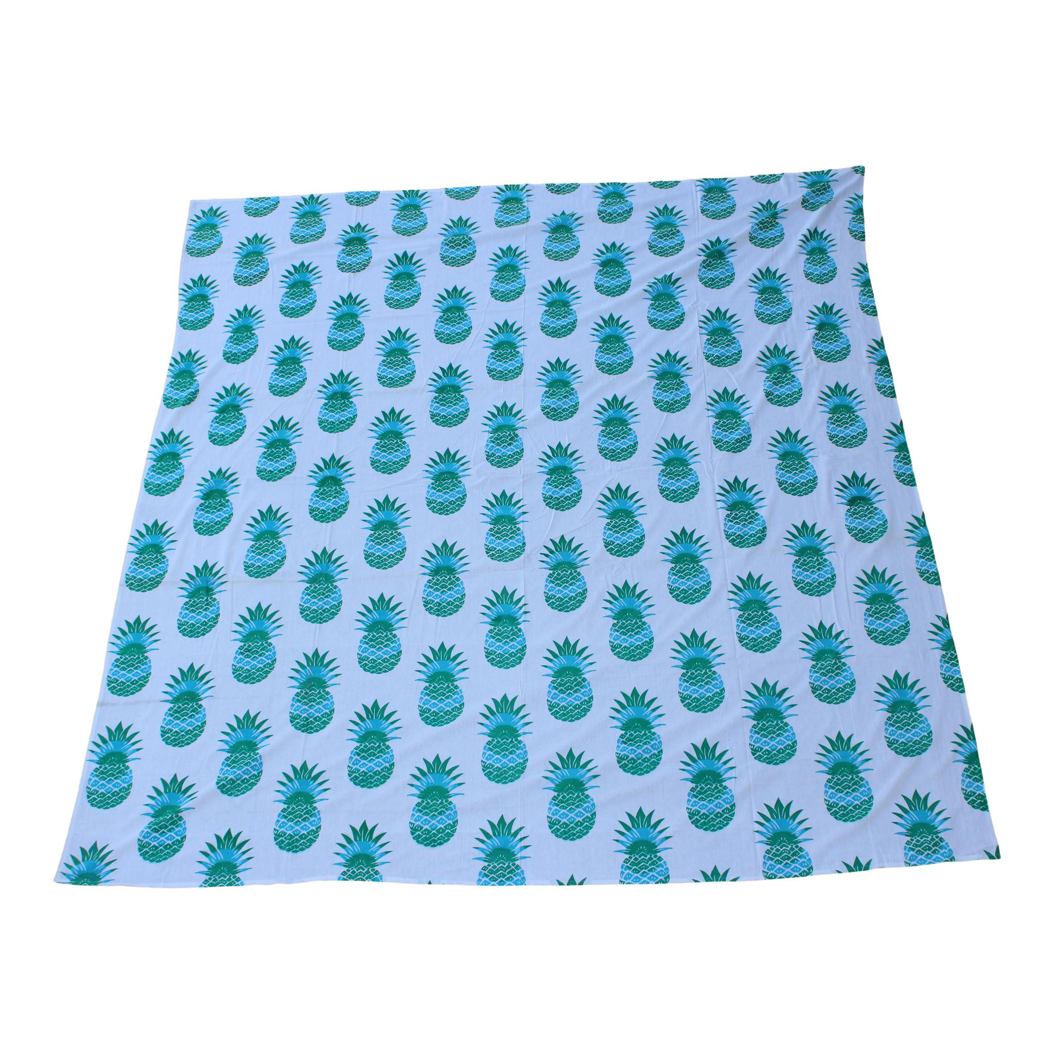 Myroundie Myroundie - roundie - vierkant strandlaken XL – yoga kleed- speelkleed - picknickkleed -100% katoen – Q32