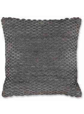 Unique Living sierkussens & plaids Sierkussen / sierkussens Tom  45x45cm dark grey