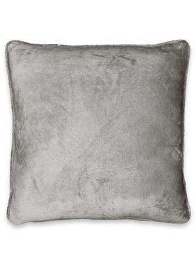 Unique Living sierkussens & plaids Sierkussen / sierkussens Milou  45x45cm nickel grey
