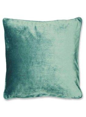 Sierkussen / sierkussens Milou  45x45cm mineral blue