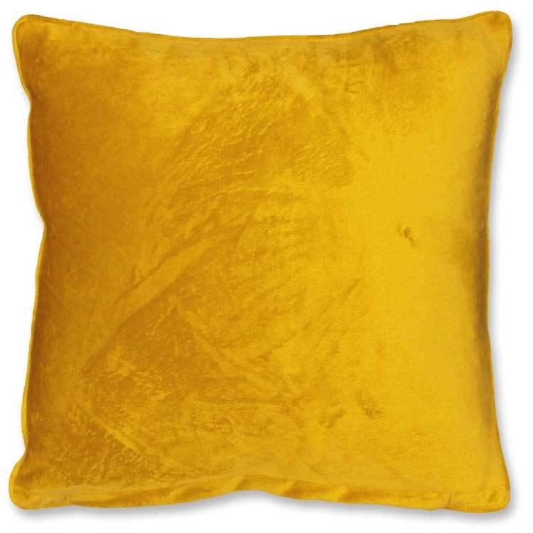 sierkussen Milou  45x45cm golden glow