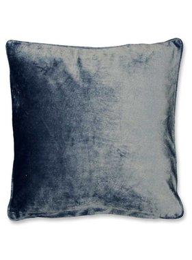 Sierkussen / sierkussens Milou  45x45cm copen blue