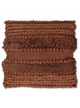 Unique Living sierkussens & plaids Sierkussen / sierkussens  Salo 45x45cm mahogany brown
