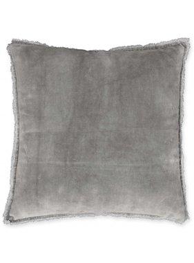 Unique Living sierkussens & plaids Sierkussen / sierkussens  Rico 45x45cm nickel grey