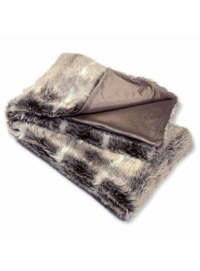 Plaid Melbourne fake fur  130x160cm