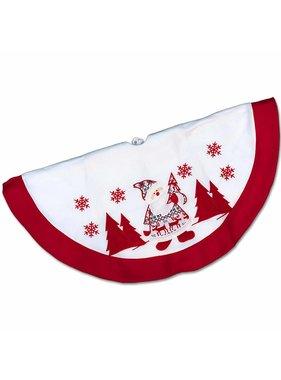 Unique Living sierkussens & plaids Kerstboomrok Winterland D 90cm  Santa