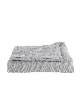 Plaid Snuggle 130 x170 cm light grey