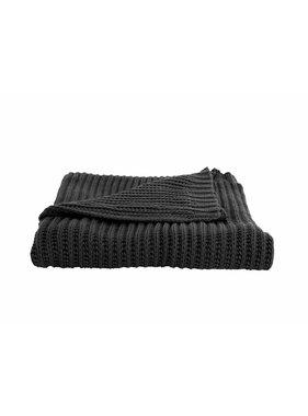 Plaid Snuggle 130 x170 cm black
