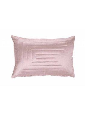 dutch decor sierkussens & plaids Sierkussen / sierkussens Square Patterns 40x60 cm roze