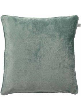 dutch decor sierkussens & plaids Sierkussen / sierkussens Velvet 70x70 cm jade