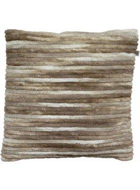 dutch decor sierkussens & plaids Sierkussen / sierkussens Wigger 45x45 cm zand multi