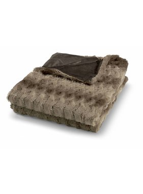 dutch decor sierkussens & plaids Plaid Tomy 130x180 cm taupe