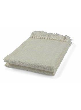 dutch decor sierkussens & plaids Plaid Mindy 130x180 cm ivoor