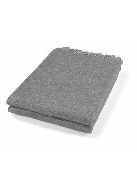 dutch decor sierkussens & plaids Plaid Fons 130x180 cm grijs