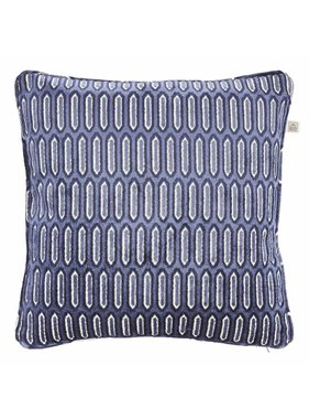 dutch decor sierkussens & plaids Kussenhoes Vitan 45x45 cm donkerblauw