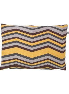 dutch decor sierkussens & plaids Kussenhoes Fien 40x60 cm zand multi
