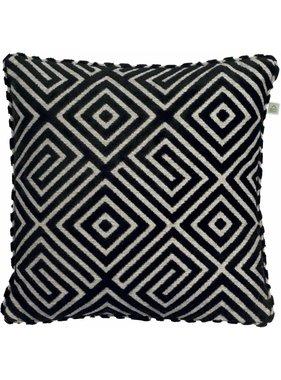 dutch decor sierkussens & plaids Kussenhoes Eglo 45x45 cm zwart