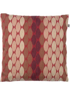 dutch decor sierkussens & plaids Kussenhoes Adam 45x45 cm bordeaux multi