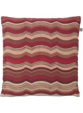 dutch decor sierkussens & plaids Kussenhoes Luuk 45x45 cm bordeaux multi