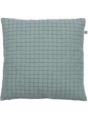 dutch decor sierkussens & plaids Kussenhoes Lisanne 45x45 cm jade