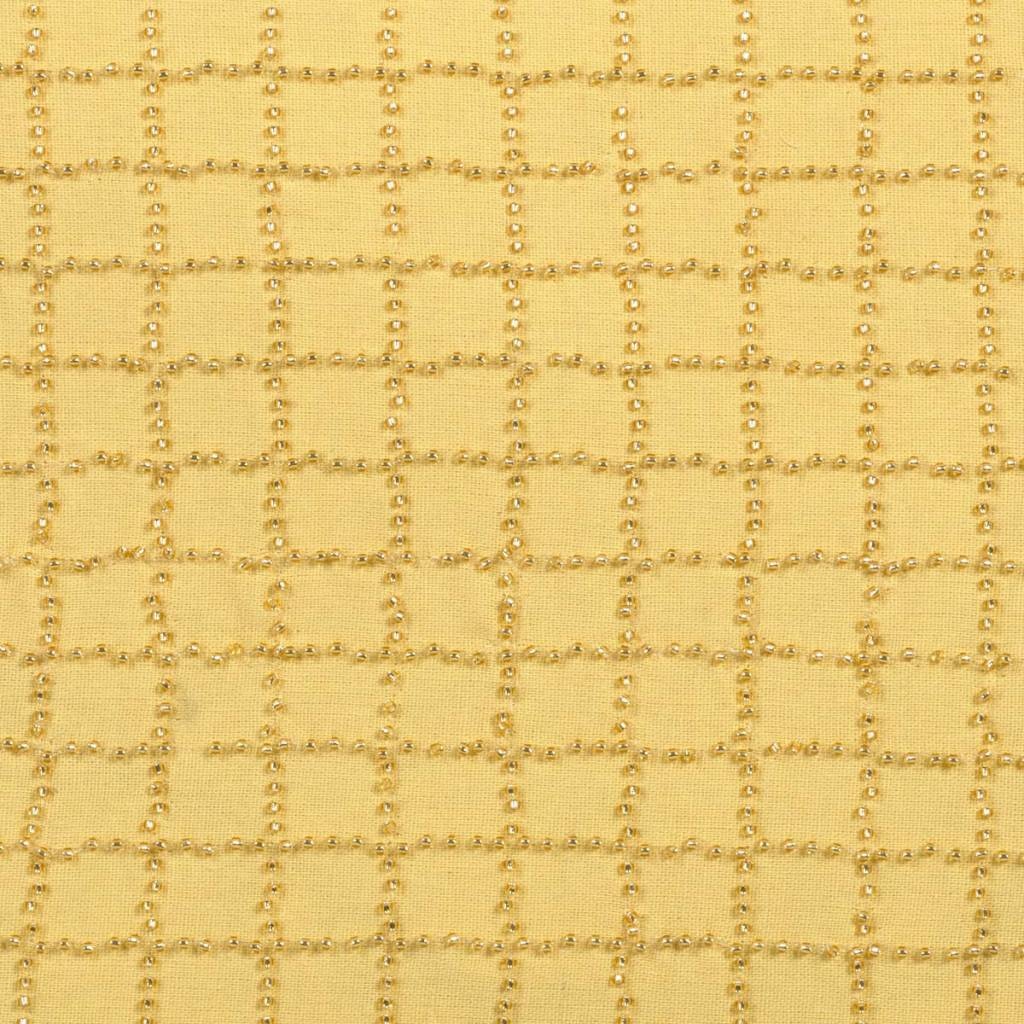dutch decor sierkussens & plaids kussenhoes Lisanne 45x45 cm oker