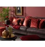 dutch decor sierkussens & plaids kussenhoes Borky 45x45 cm bordeaux multi