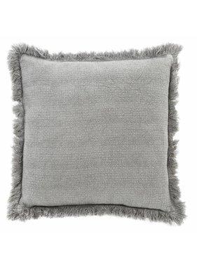dutch decor sierkussens & plaids Kussenhoes Riete 45x45 cm donkergrijs