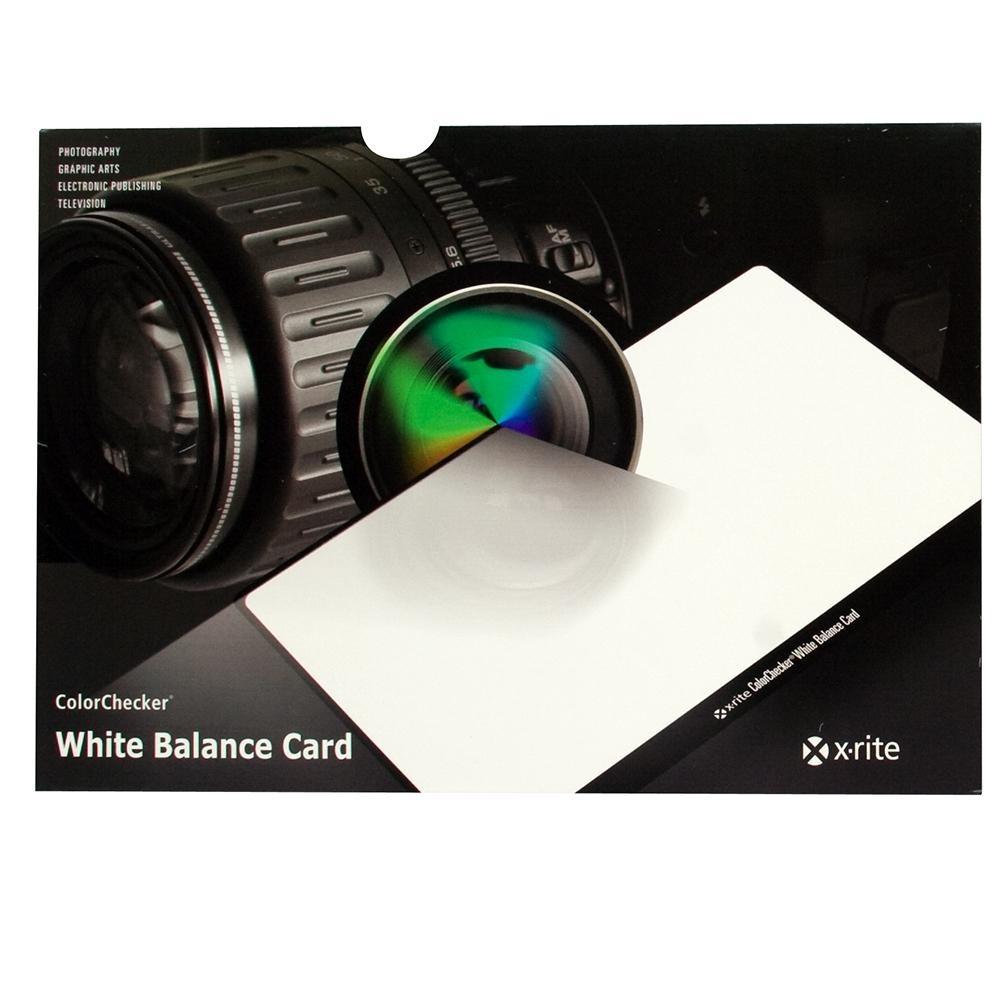 X-Rite X-Rite ColorChecker® White Balance Card