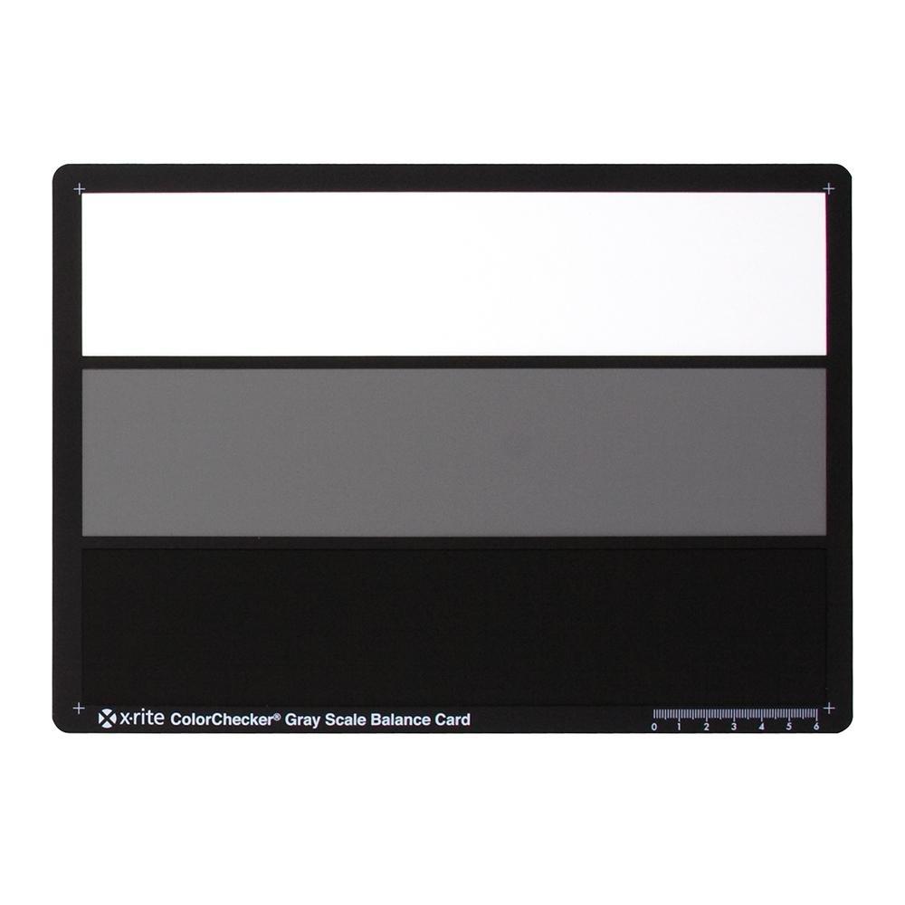 X-Rite X-Rite ColorChecker® Greyscale Balance Card
