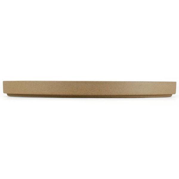 hasami hasami teller/deckel Ø 25,5 cm | sand – design takuhiro shinomoto