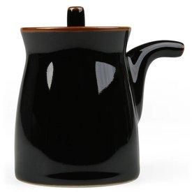 hakusan porcelain g-type soyasaucen kännchen | schwarz