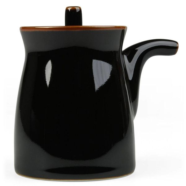 hakusan porcelain g-type soyasaucen kännchen | schwarz – design masahiro mori