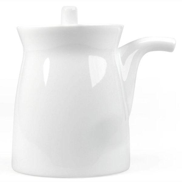hakusan porcelain g-type soyasaucen kännchen | weiss – design masahiro mori