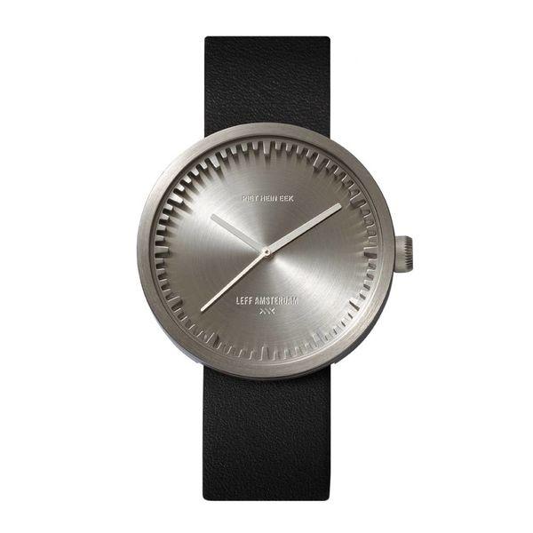 leff tube watch | stahl, ø 42 mm – design piet hein eek
