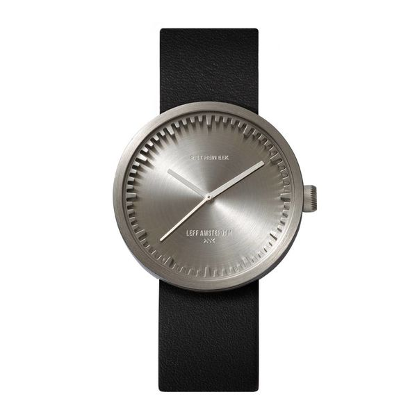 leff tube watch | stahl, ø 38 mm – design piet hein eek