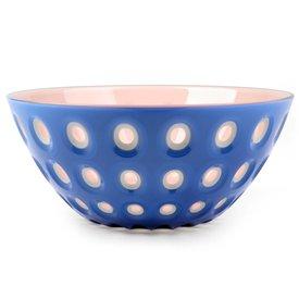 guzzini le murrine schale | 25 cm, blau-weiß-rosa