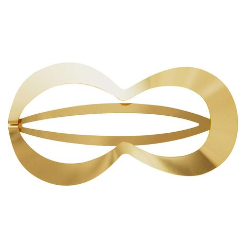 clinq haarspange clio | federstahl vergoldet