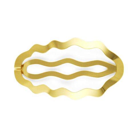 clinq haarspange helia | federstahl vergoldet