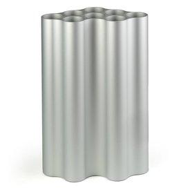 vitra nuage vase | groß, hellsilber